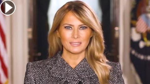 رسالة وداع مؤثرة لسيدة أمريكا الأولى ميلانيا ترامب قبل مغادرة البيت الأبيض