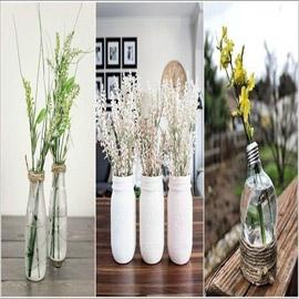 بالصور أفكار رومانسية لعرض الأزهار في المنزل