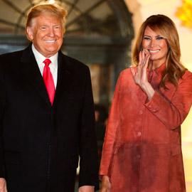 البيت الأبيض يعلن موعد مغادرة ترامب وزوجته ميلانيا