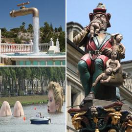 بالصور: تعرفوا إلى أغرب التماثيل والمنحوتات المدهشة حول العالم