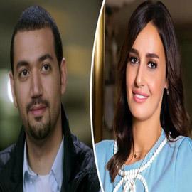 """تسريب صور لمعز مسعود مع فتاة داخل فندق .. والمتابعون : """" حلا شيحة """""""