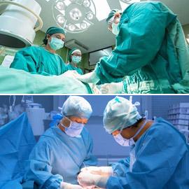 سبب ارتداء الأطباء اللون الأخضر أو الأزرق خلال الجراحة والعمليات