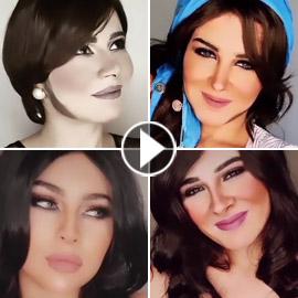 فيديو وصور: فنانة عراقية تذهل الجميع: تغير مكياجها لتشبه نانسي، شيرين،  ..
