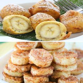 وجبة خفيفة لا تستغرق 10 دقائق.. طريقة عمل الموز المقلي بالعسل والقرفة