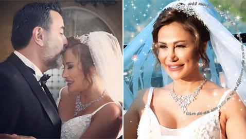زواج ريم نصري شقيقة أصالة بعمر 45 عاما.. من هو زوجها الثاني؟