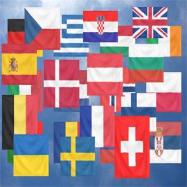 صور: تعرفوا إلى تاريخ أبرز ألوان أعلام دول أوروبا وأسرارها!