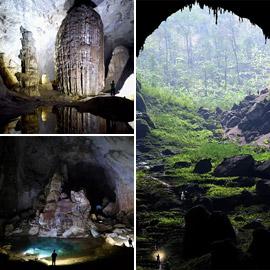 إليكم جولة داخل أحد أكبر الكهوف الطبيعية في العالم