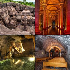 بالصور: زيارة لأجمل وأروع الأماكن تحت الأرض