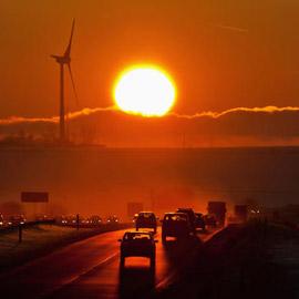 تقييم دراسة عن تأثير الإغلاق في ظاهرة الاحتباس الحراري