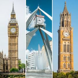 بالصور: تعرفوا إلى أبراج الساعات الرموز السياحية الشهيرة