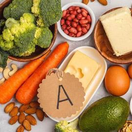 مواد غذائية غنية بفيتامين A