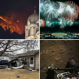 إليكم نبذة مصورة لأهم وأبرز أحداث الأسبوع من مختلف أنحاء العالم