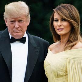 ترامب وميلانيا متزوجان بالاسم فقط.. والطلاق قريب!