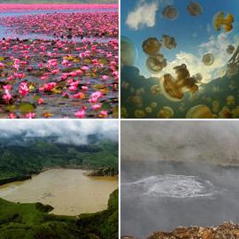 بالصور: إليكم جولة حول أجمل وأغرب البحيرات في العالم