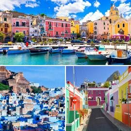 صور مدهشة: أجواء من التفاؤل والفرح في أجمل المدن الملونة حول العالم