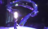 عرض رائع ومذهل لفقاعات المياه في الهواء