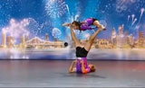الثنائي الديناميكي في موهبة الرقص