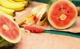 سحربقمة الغرابة  إبدال الفاكهة ببعض