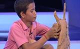 موهبة الطين من فتى برنامج المواهب الهندي