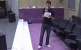 احمد يتدرب على اغاني سعد رمضان