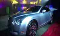 تحول سيارة بينتلي الى سيارة لامبورجيني