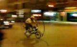 حركة بهلوانية في الدراجة الهوائية