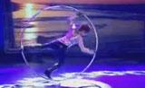 موهبة وعرض خيالي رقص داخل العجل