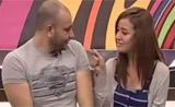 مشهد تمثيلي لنينا ومحمد دقدوق