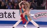 رقص هندي على الجليد--موهبة رائعة